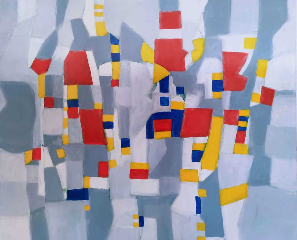 Hommage an Piet Mondrian II