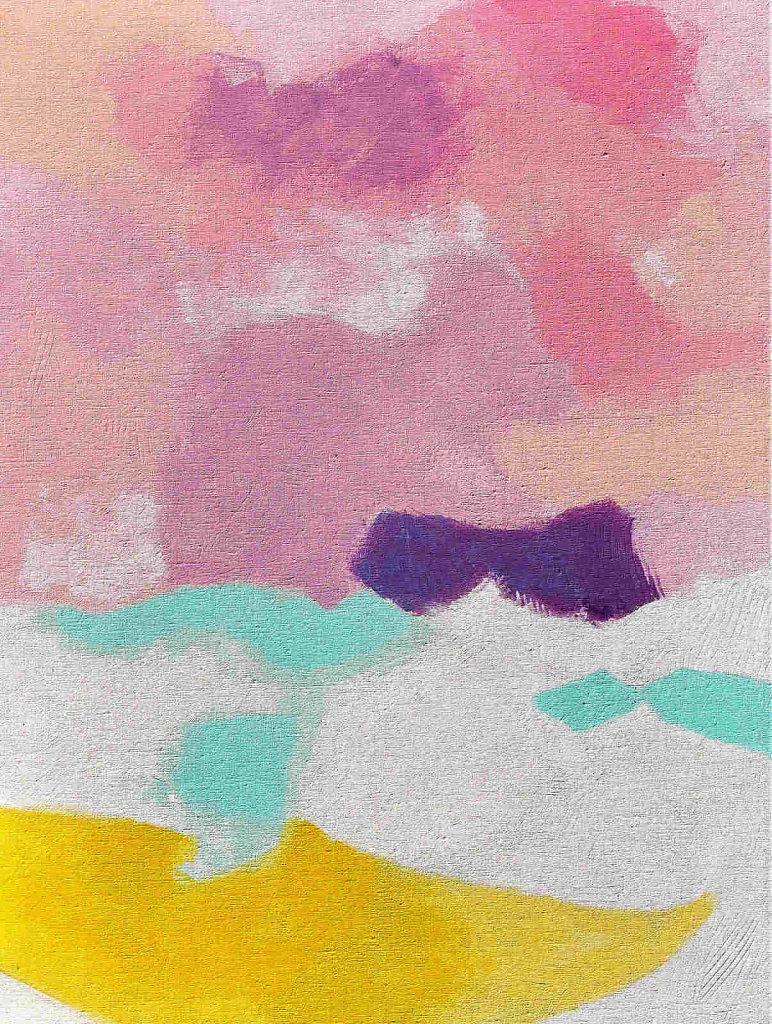 Dreiklang einer Landschaft II